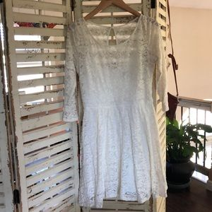 Abercrombie & Fitch Dresses - Abercrombie dress, ivory.